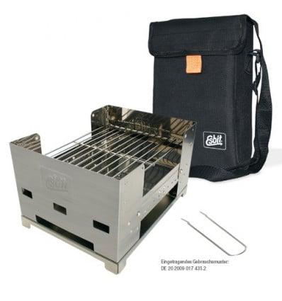 Réchauds Barbecue Inox Pliable Petit Modele ( Bbq100s ) - AlpinStore