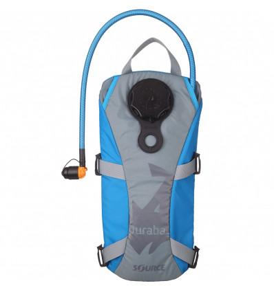 Street Bag Hydration pack Durabag Pro 2L Source (Grey/Lt Blue) - AlpinStore