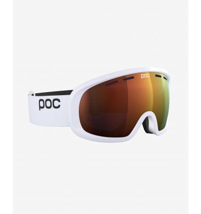 Alpine skiing goggles Poc Fovea Mid Clarity (Hydrogen White / Spektris Orange) - AlpinStore