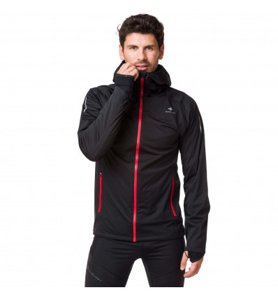 Trail Veste homme Raidlight Raidshell Mp+ (BLACK) - AlpinStore