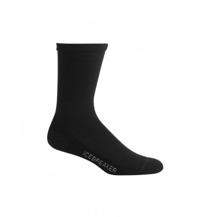 Socks Icebreaker Mens Light Crew Lifestyle (black) - AlpinStore