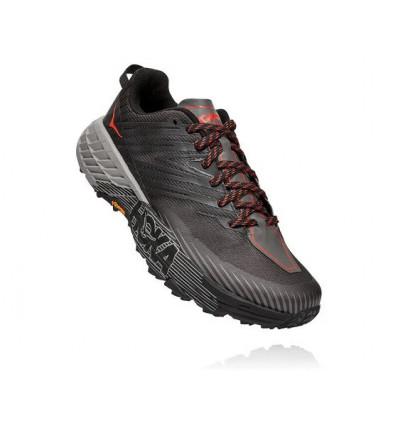 Trail Hoka One One Speedgoat 4 Trail Shoe (Dark Gull Gray / Anthracite) - AlpinStore